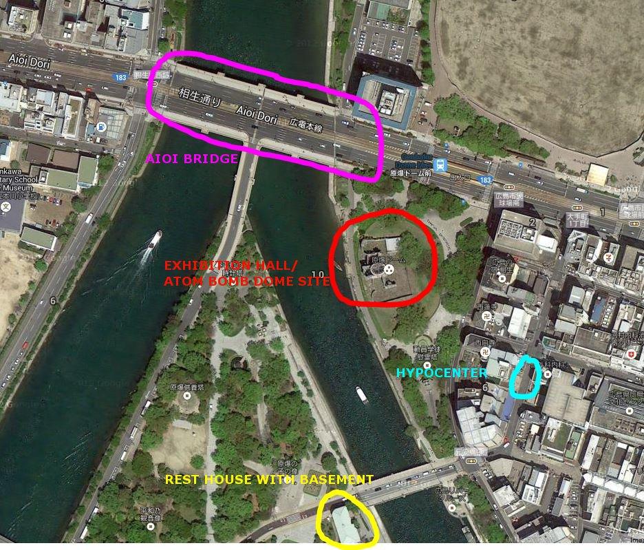 hiroshima peace park map Phoren Yatra