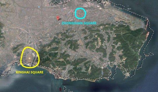 xinghai square map
