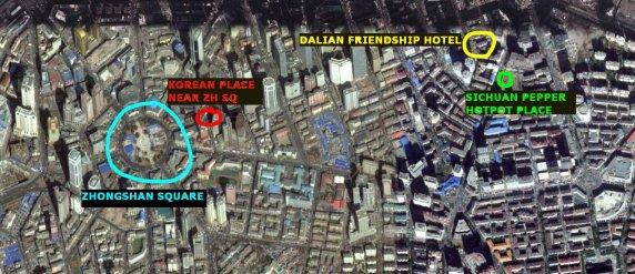 hotpot dalian map