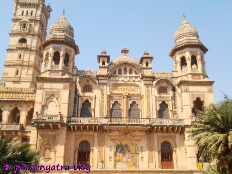laxmi vilas palace back