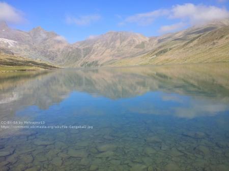 gangabal lake kashmir