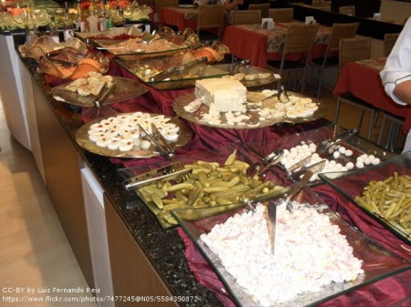 por kilo buffet brazil