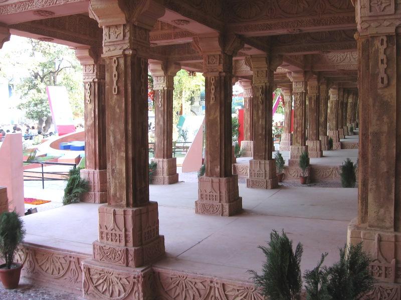 gujarat pavilion interior iitf delhi pragati maidan