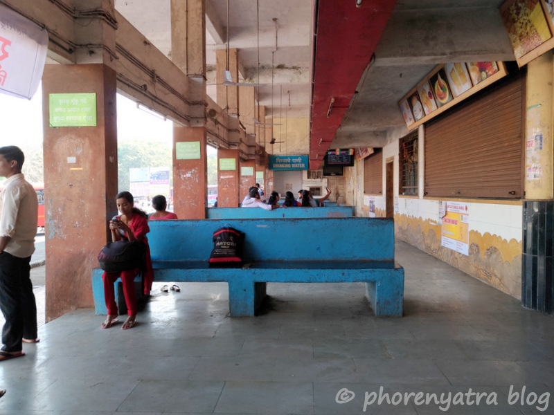 lonavala bus stop waiting