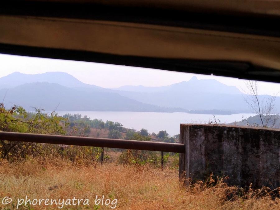 approaching pawna lake
