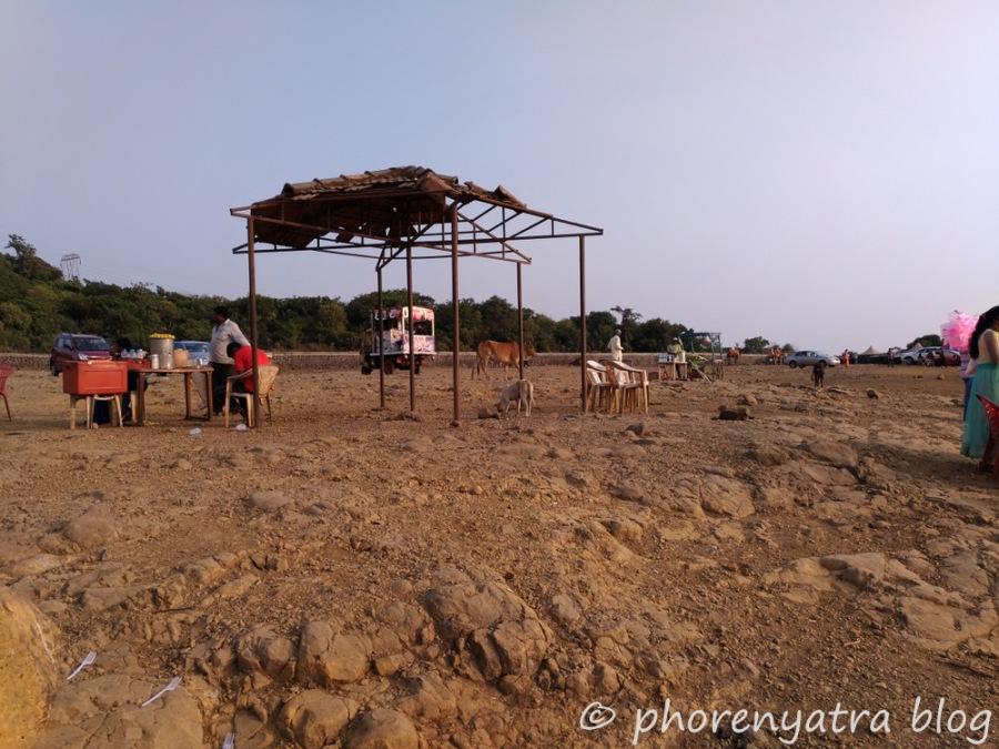 food stall at tiger point