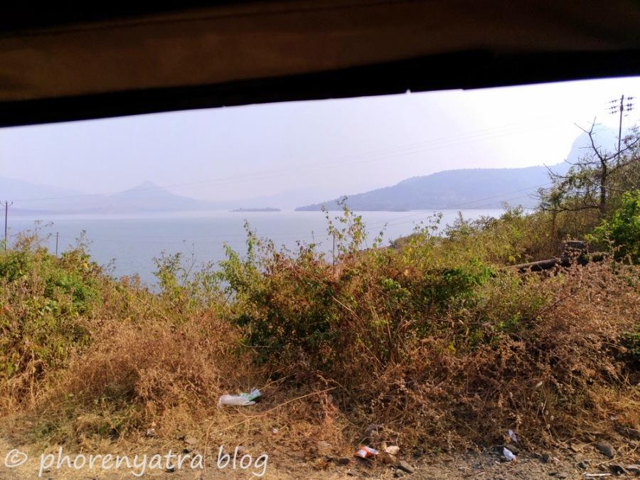 driving to pawna lake