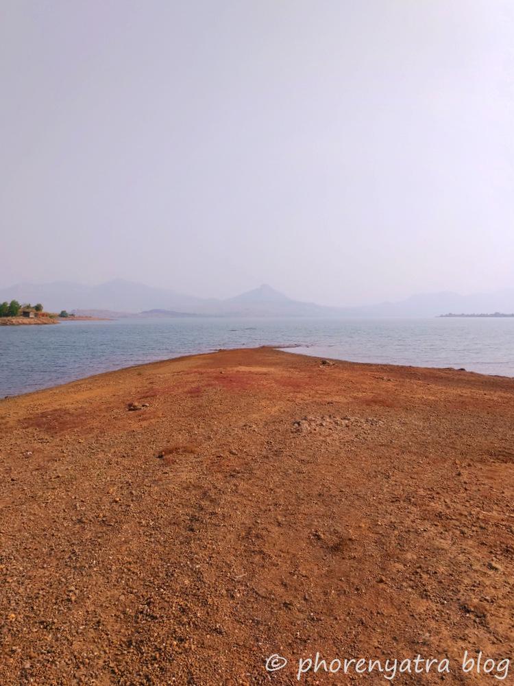 standing at pawna lake