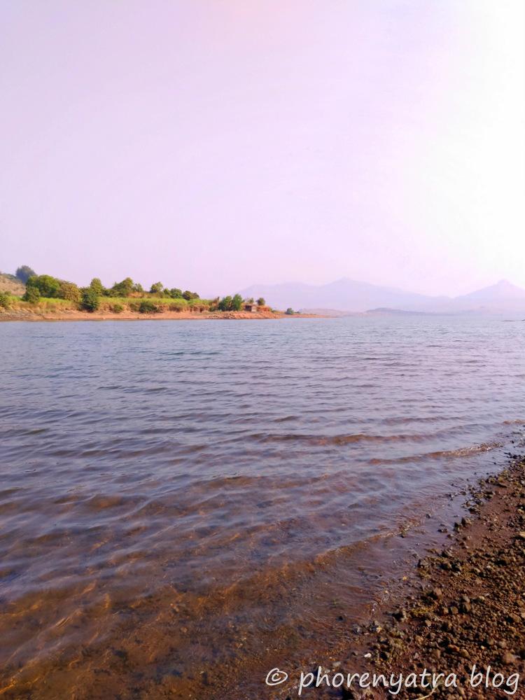 pawna lake water