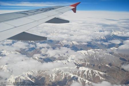 ladakh flight view