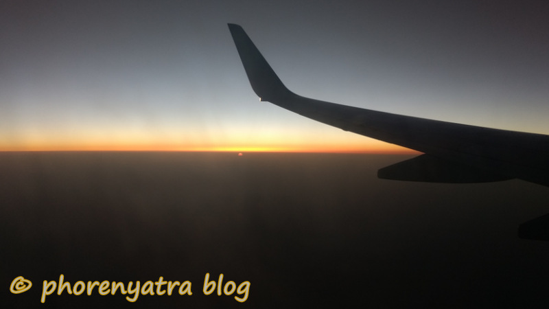 Leaving Delhi at dawn