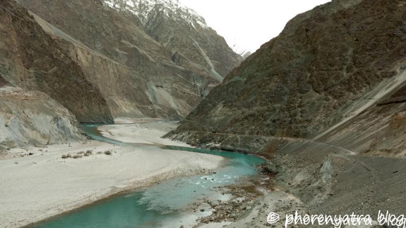 shayok river