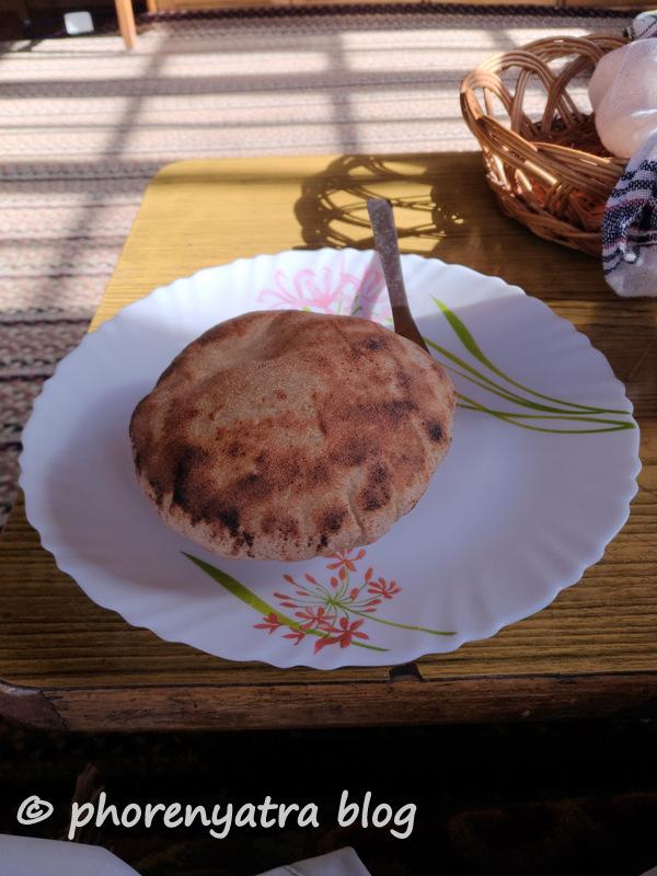 Khambir Ladakhi bread