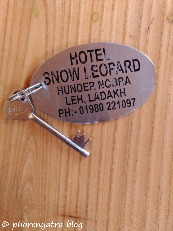 keys of hotel snow leopard hunder