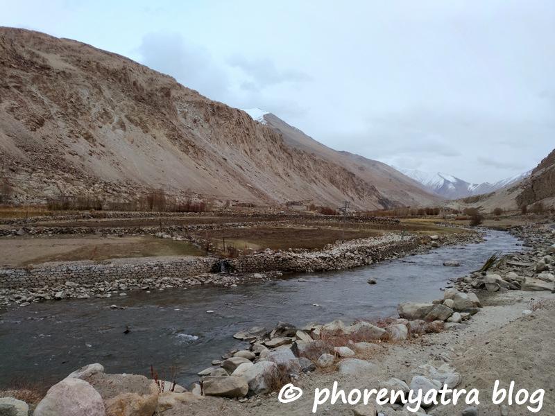 durbuk village river