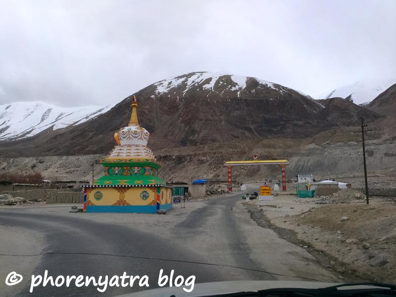 tangtse stupa