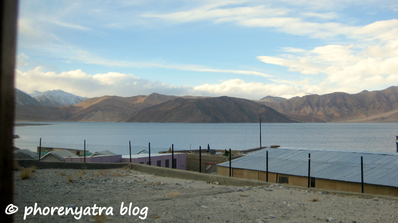 pangong weather clearing