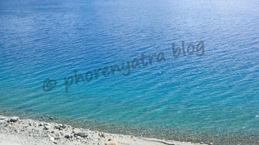 Pangong Lake colour