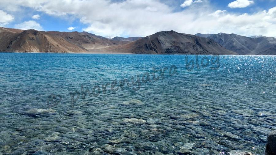 Pangong Lake Lukung