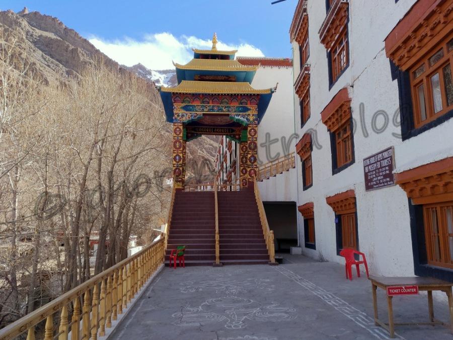 Hemis monastery entrance