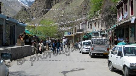 Khaltsi village