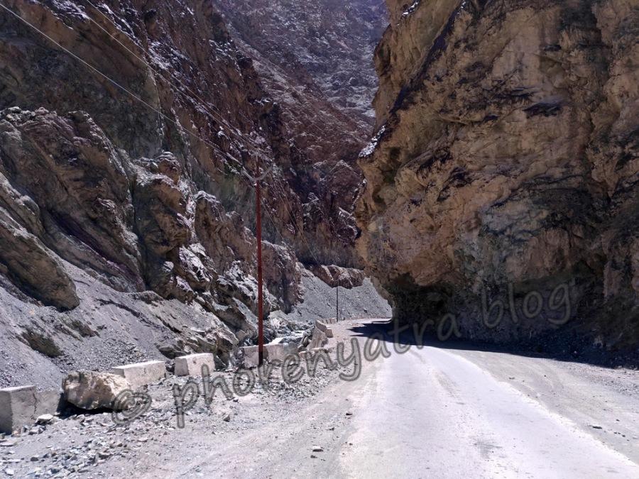 the road to Lamayuru
