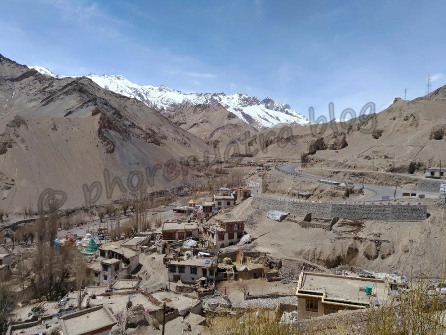 view from the Lamayuru Monastery