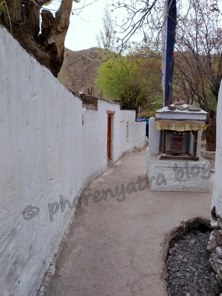 heading to Alchi Monastery