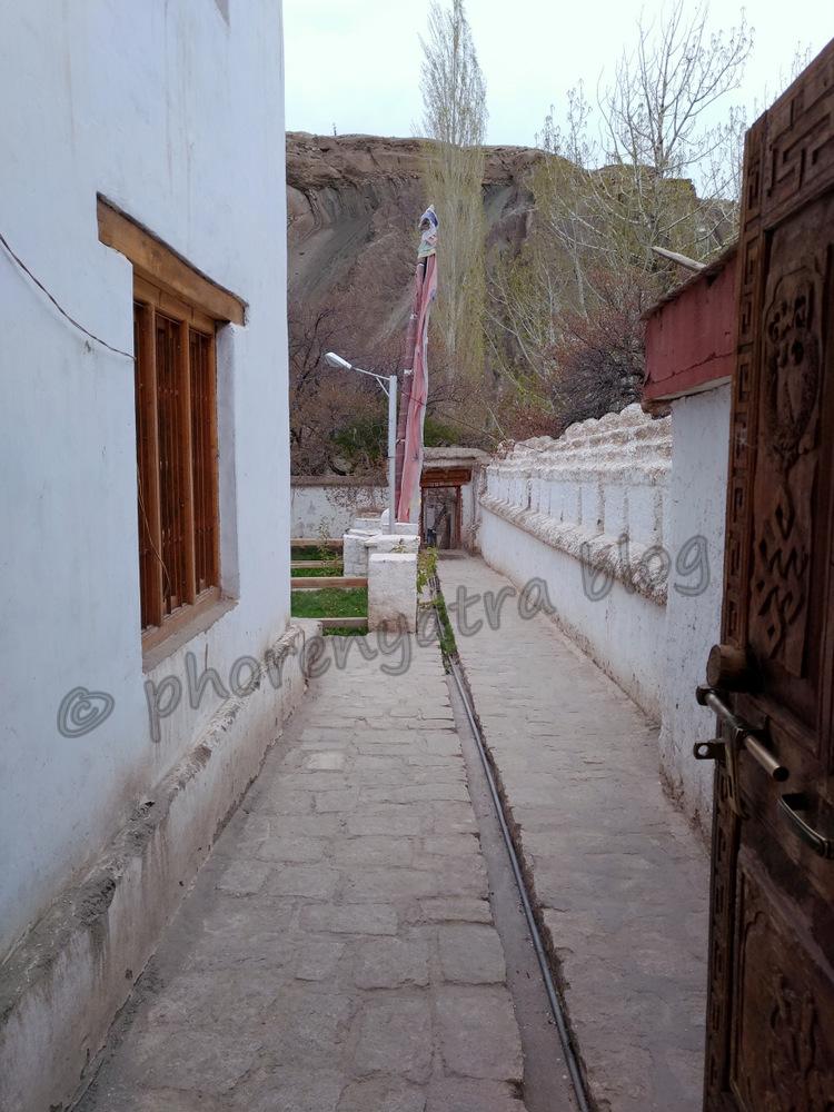 a temple at Alchi Monastery