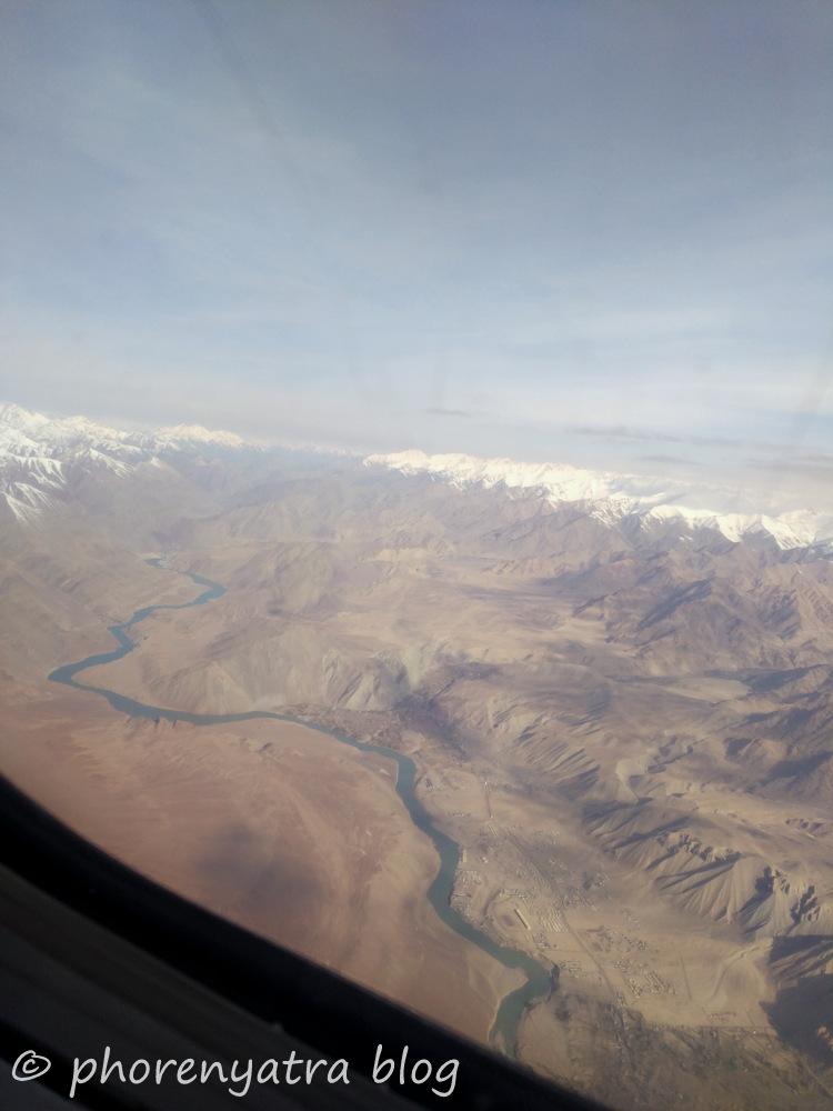 ladakh from air