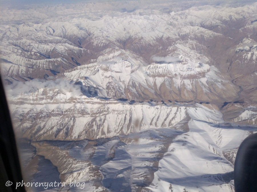 manali from air