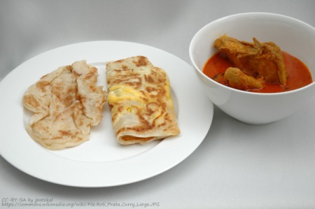 roti prata singapore vegetarian