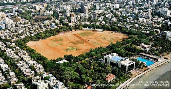 Shivaji Park aerial