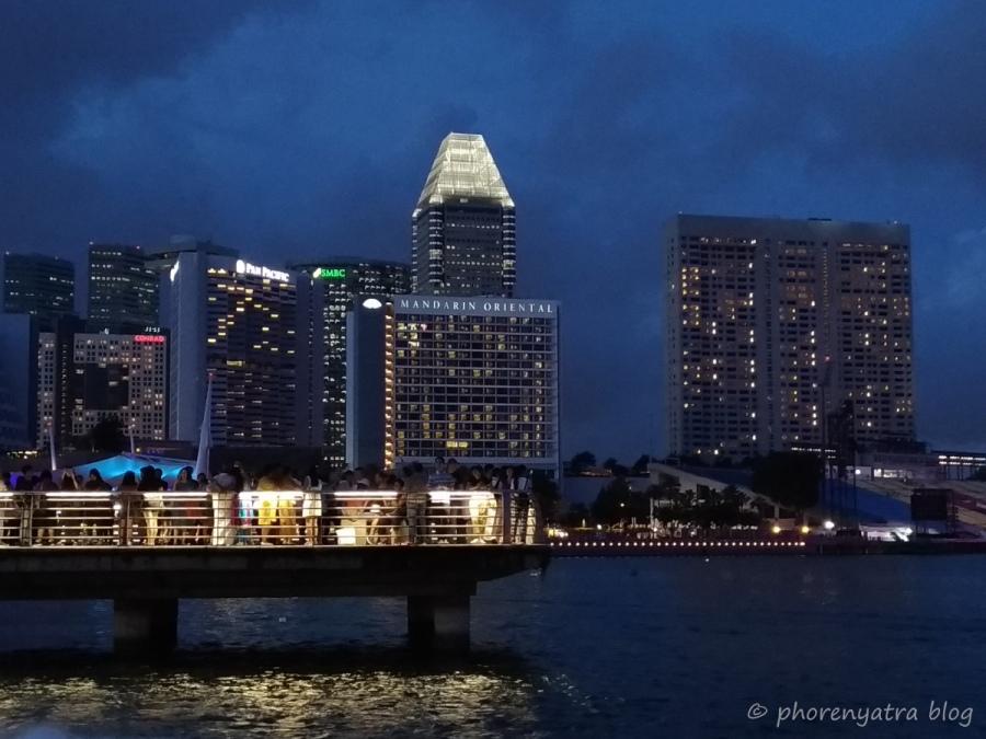 Singapore Waterfront night