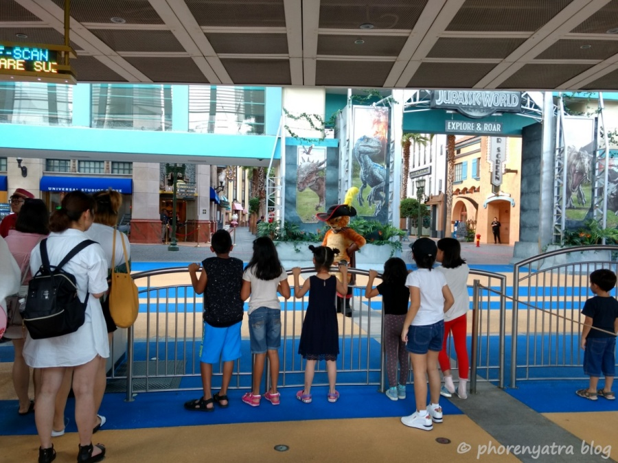 Universal Singapore entrance