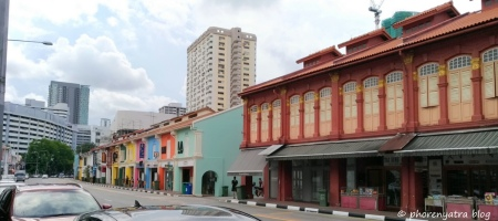 Colourful Architecture Singapore