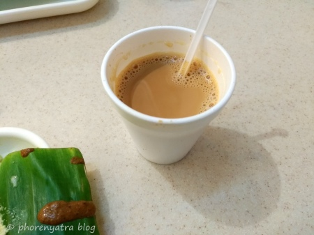 Filter Coffee at Murugan Idli Singapore