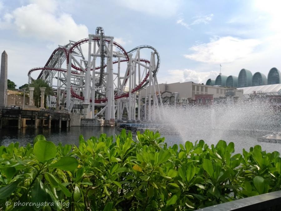 Battlestar Coasters At Universal Singapore