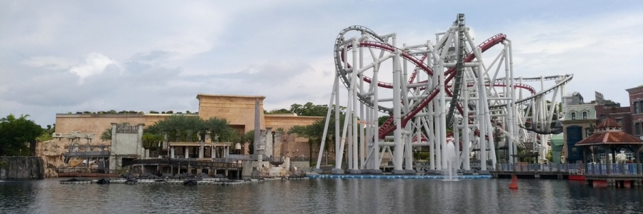 Battlestar Coasters At Universal Singapore