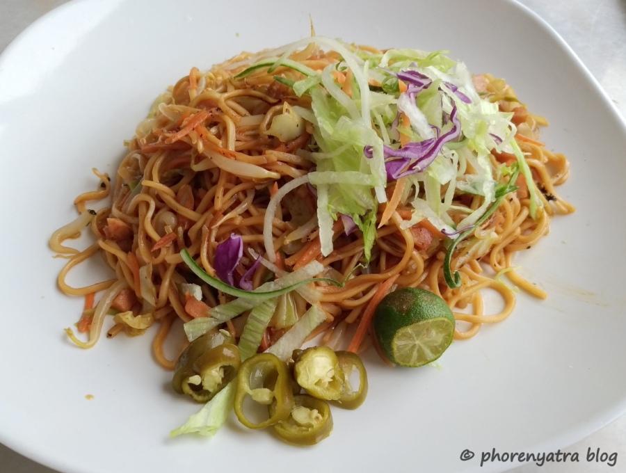 hong kong fried noodle nature veg delight singapore