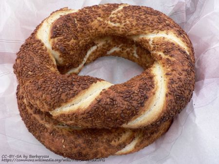 kolouri greek bread