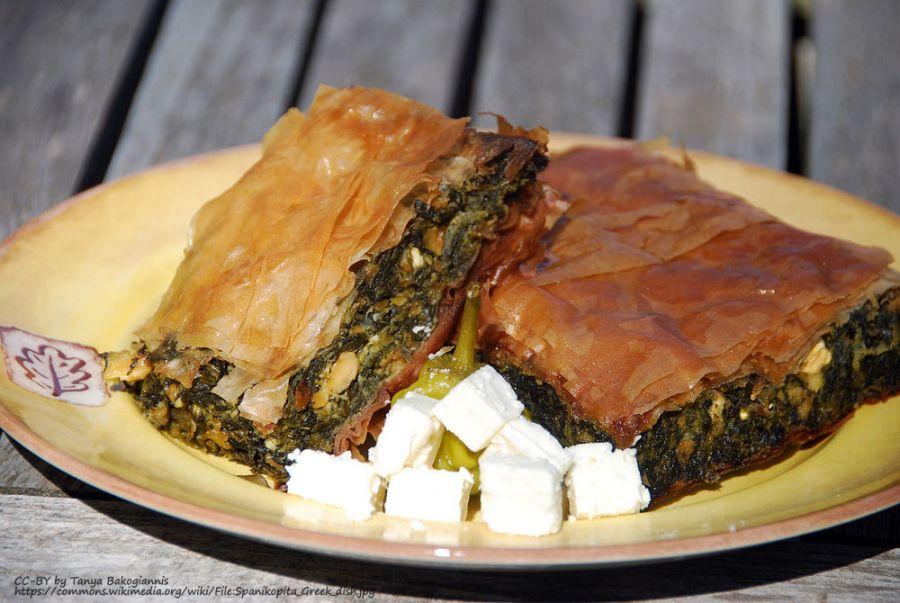 spanakopita greece