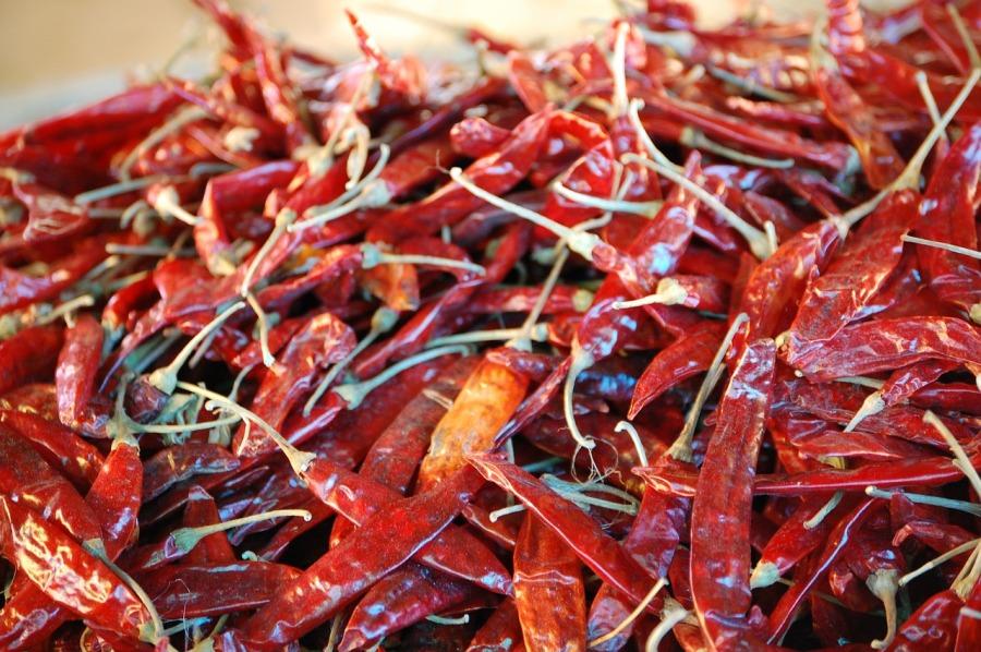 bhutan chillies